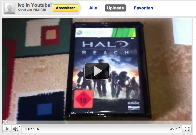 Halo Reach Unboxing Video