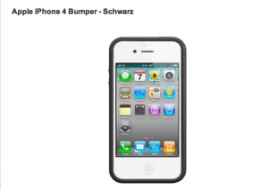iPhone 4 Bumper von Apple