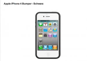 iPhone 4 Bumper von Apple