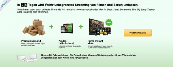 Amazon Countdown Prime 2014