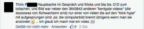 Computer BILD Facebook Kommentar 5