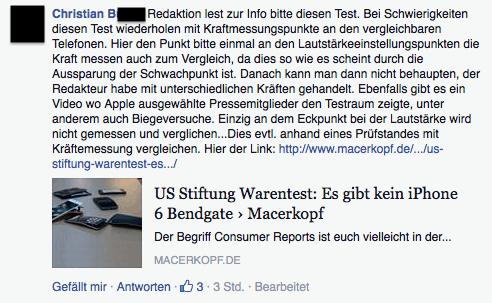 Computer BILD Facebook Kommentar 8