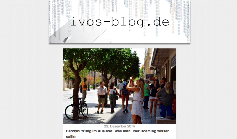 ivos-blog.de neues Design 2016