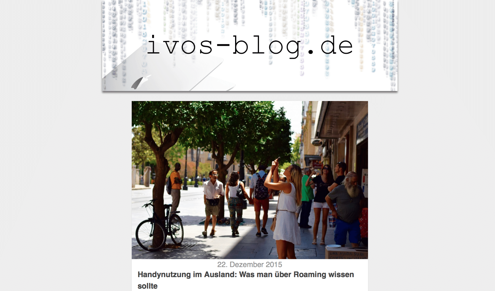 ivos-blog.de neues Design 2016