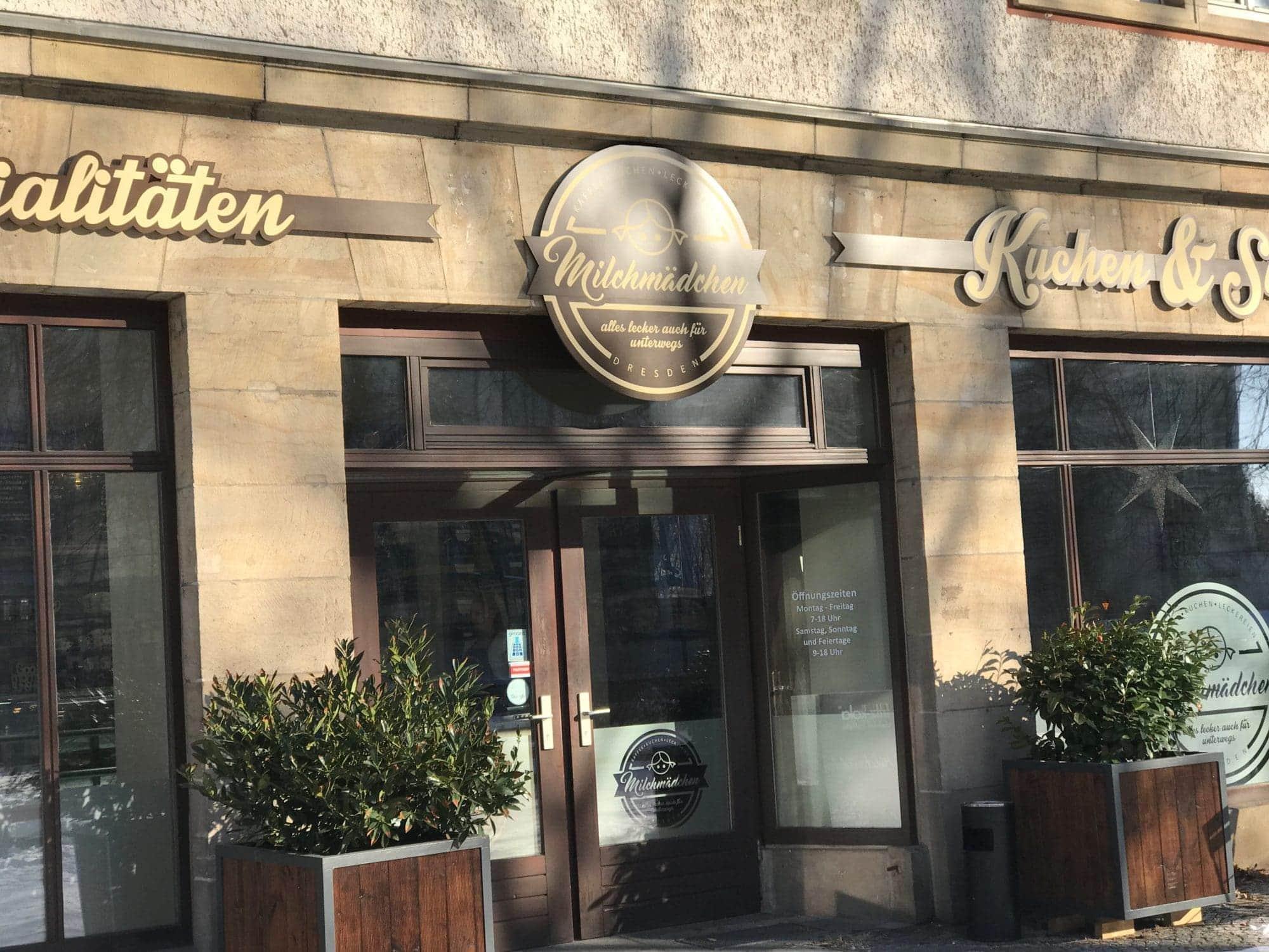 Cafe Milchmädchen Laden in Dresden