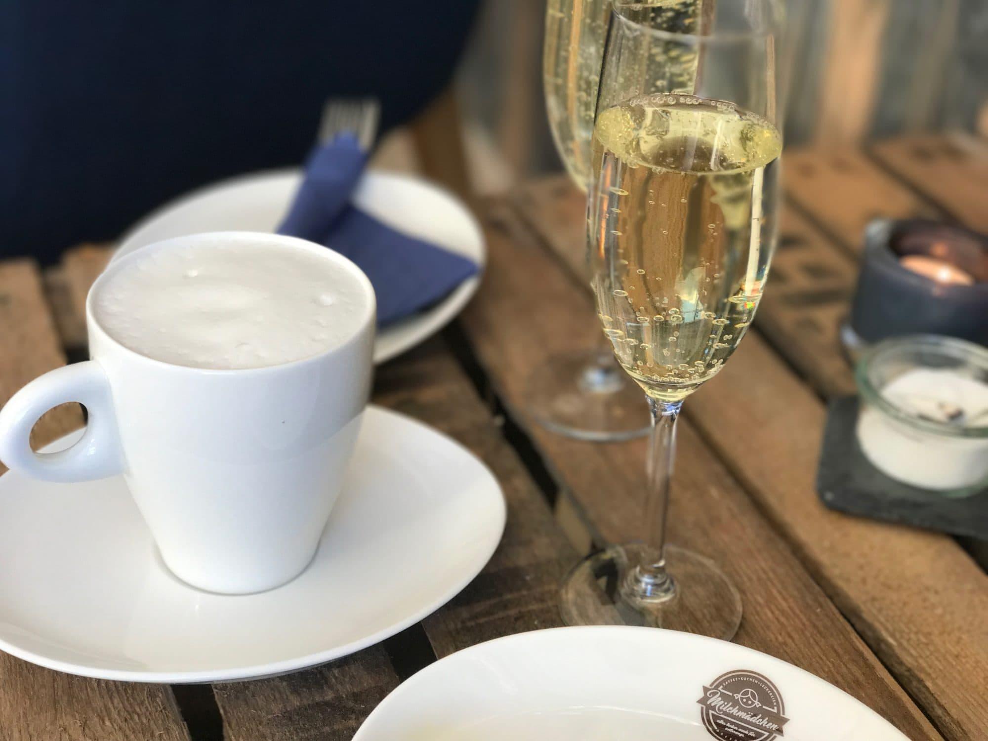 Kaffee und Sekt von Cafe Milchmädchen